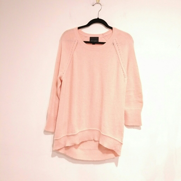 e771c342162c32 Cynthia Rowley Sweaters - Cynthia Rowley Pink Sweater crewneck size XL
